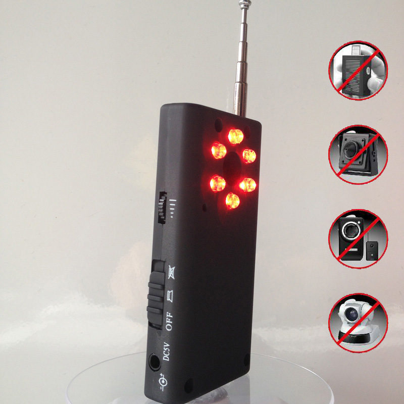 US Full Range Wireless Camera GPS Spy Bug RF Signal Detector GSM Device Finder