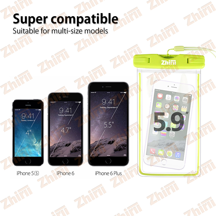 newest 91224 87e8e 2016 high quality waterproof phone pouch, clear waterproof cell phone bags