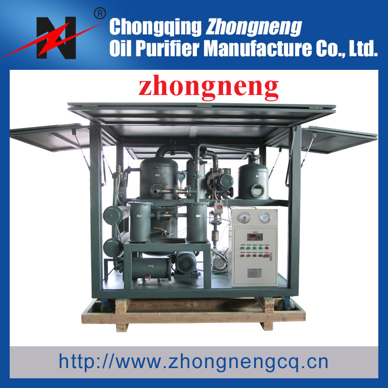 two step vacuum insulation oil recovery Purifier