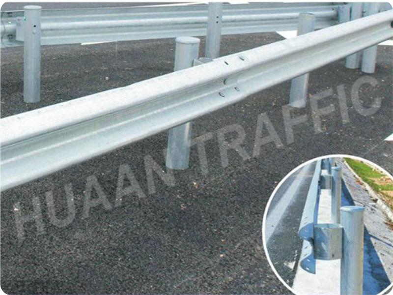 Galvanized Steel Highway Guardrail