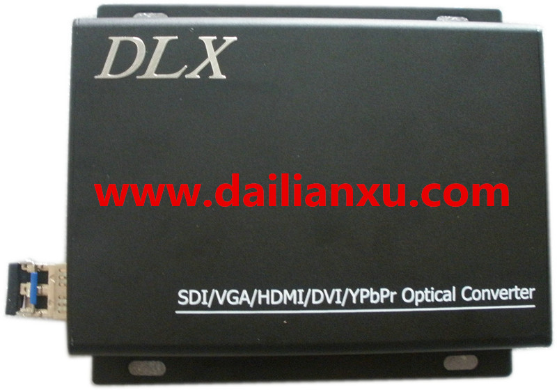 HDMI Video/Audio/Data Fiber Optical Transmitter and Receiver