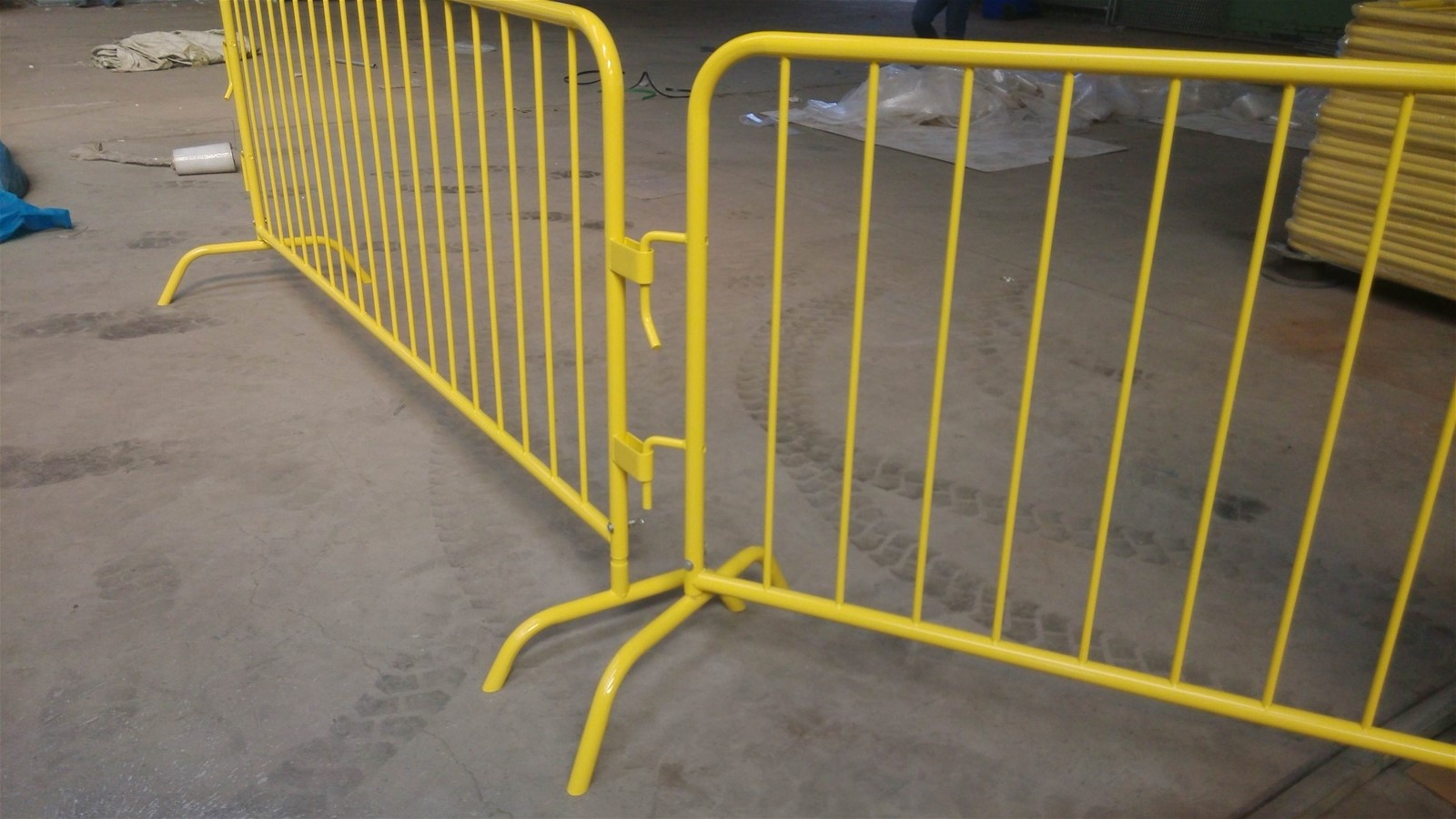 Stackable Event Barricade For Crowd Control Construction