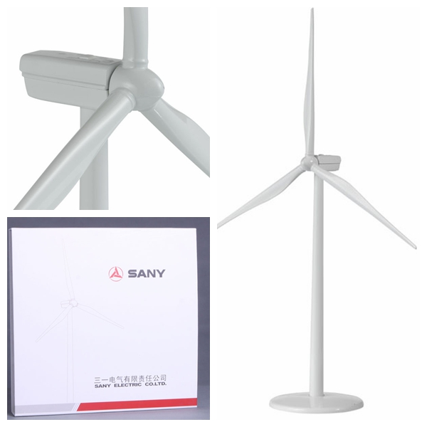 Die cast Zinc alloy Custom Diecast Wind Turbine Model