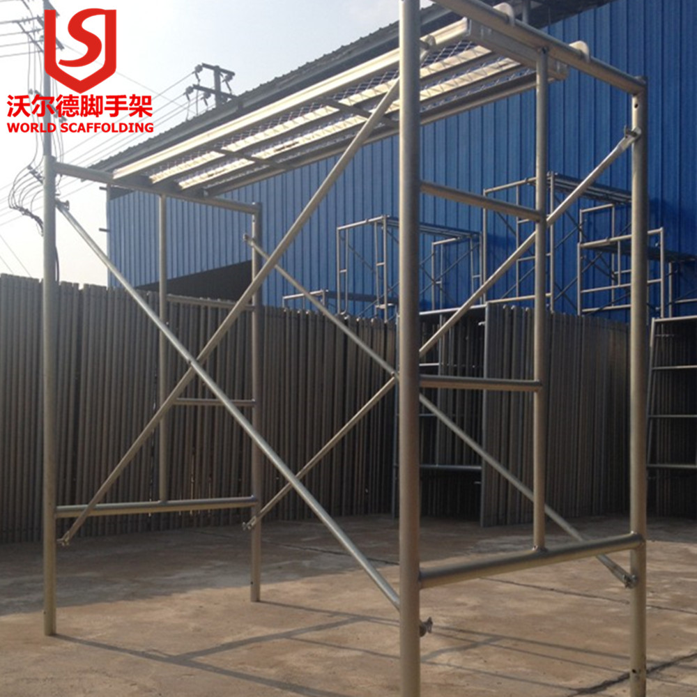 construction frame scaffolding for building and maintenance