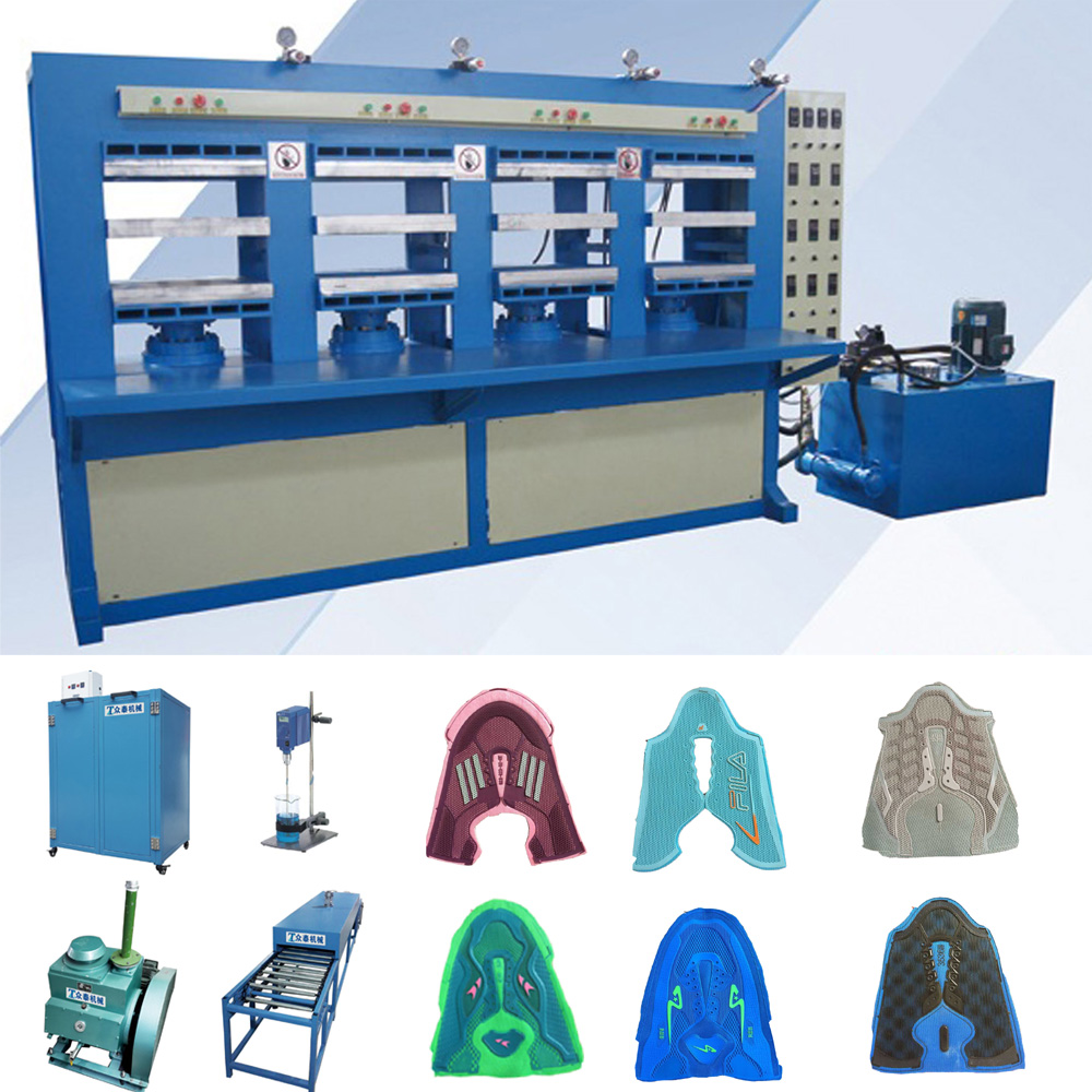 Jinjiang Factory Sport Shoes Forming Machine, Kpu Make up Machine