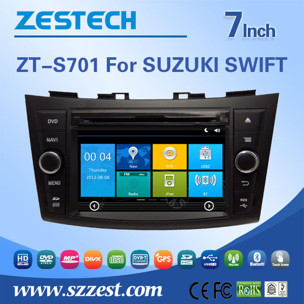 TOUCH SCREEN CAR DVD GPS PLAYER For SUZUKI SWIFT
