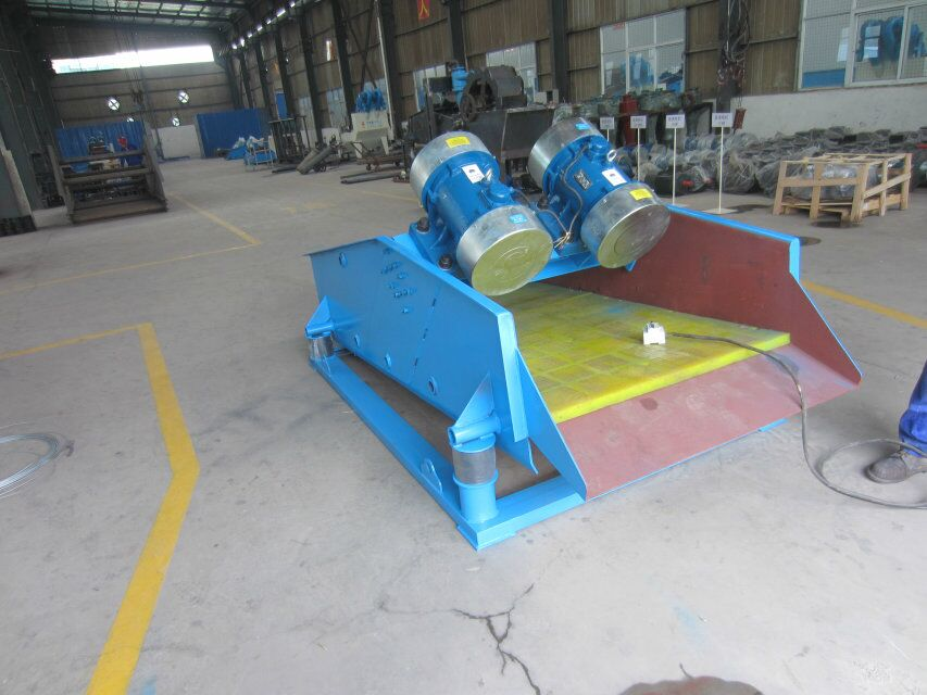 Dewatering vibrating screen TS0820