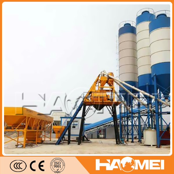 mobile cement batching containerized plants