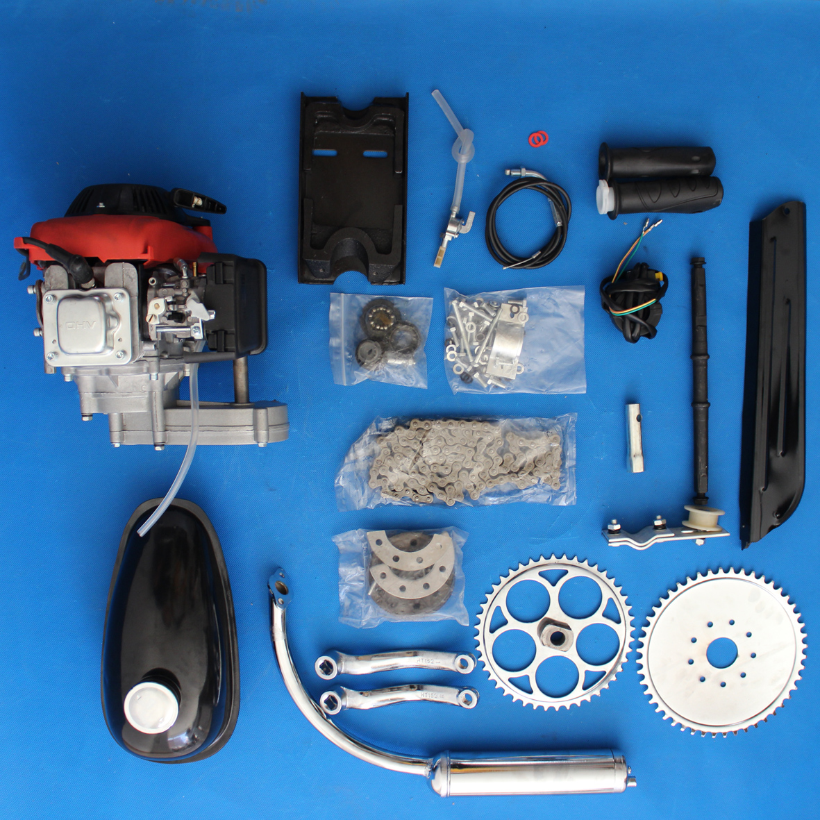 4 stroke 49cc bike engine kit / bicycle motor kit