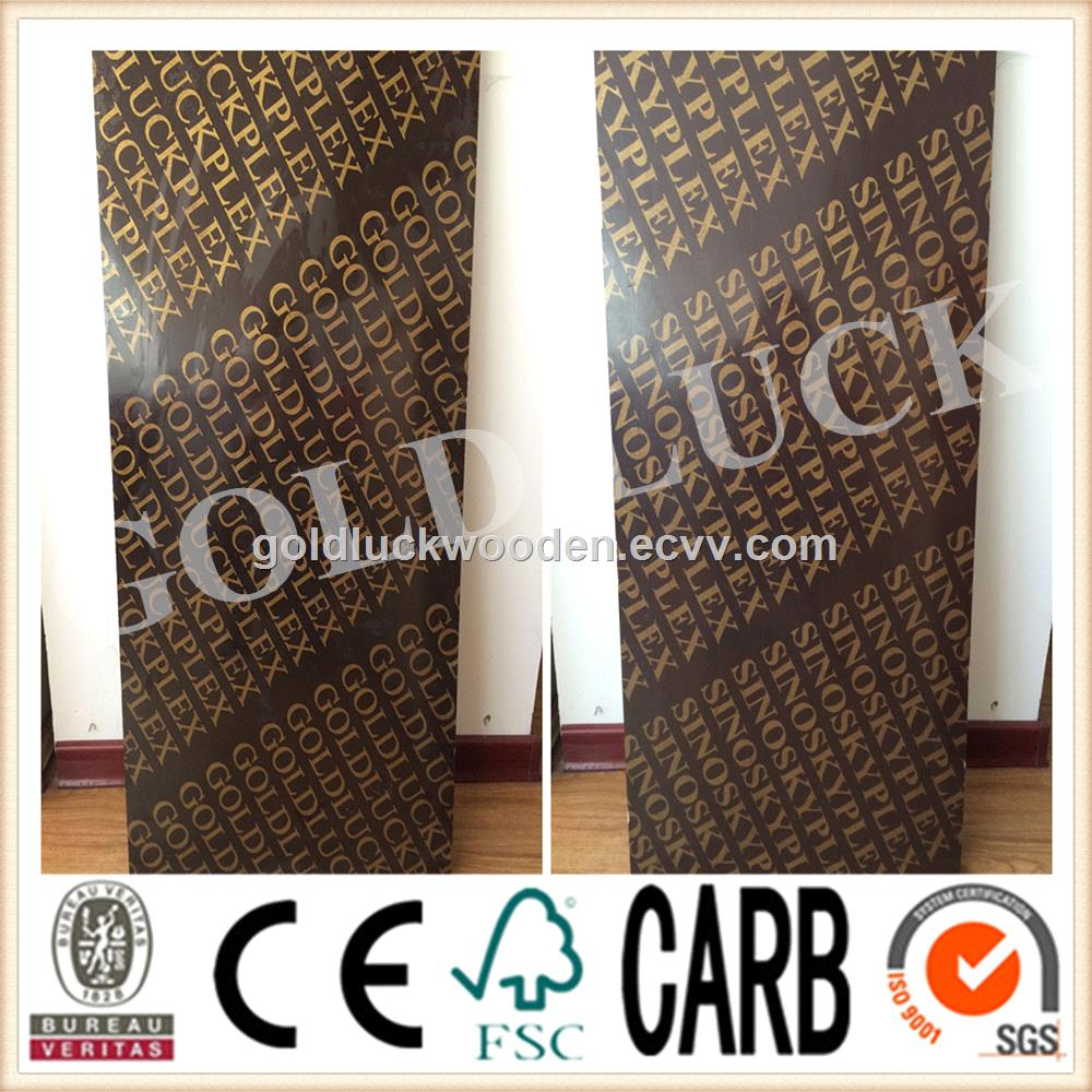 Film Faced Plywood / Concrete Formwork / Construction Plywood