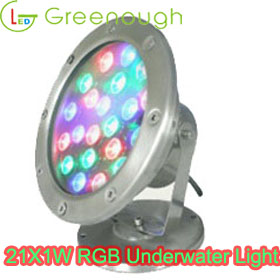 LED Underwater Light/Stainless Steel Underwater LED Dock Lights 21W