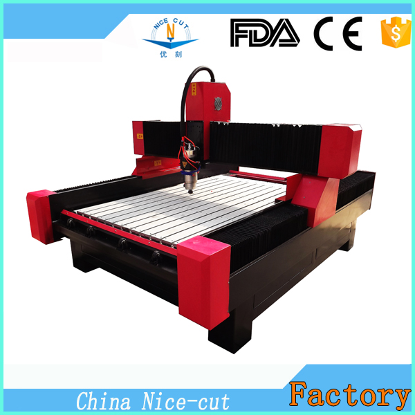 Nice-Cut NC-M1325 cnc marble router machine/cnc carving stone/marble/granite machine