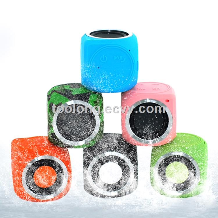 Hot Selling Protable  Waterproof Mini Bluetooth Speaker you can tack any where