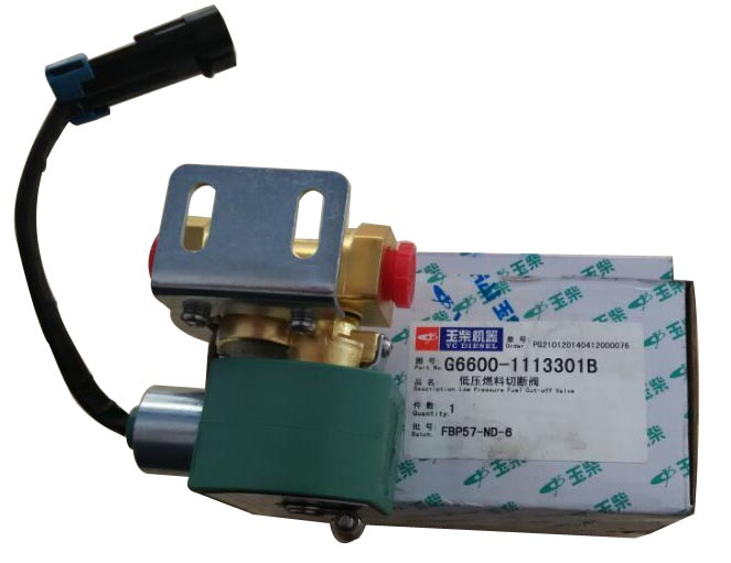 Yuchai Low Pressure Fuel Cut -off Valve