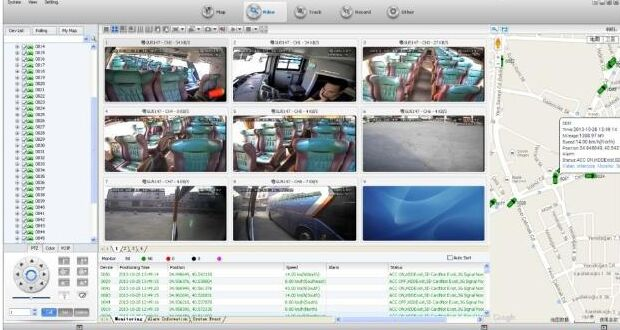 CMS Central Monitoring Software intelligent vehicle monitoring