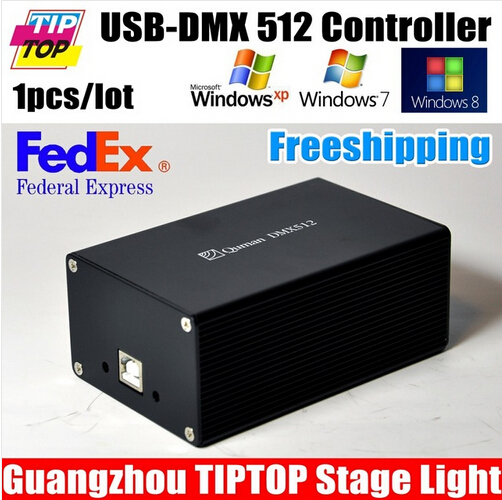 DMX512 Stage Lighting Controller SD512 III USB Interface Dual Power Supply Martin/Avolites TIPTOP