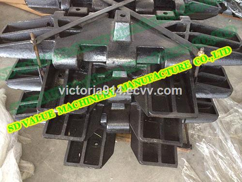 Crawler Crane Undercarriage Parts Track Shoe For IHI CCH2500