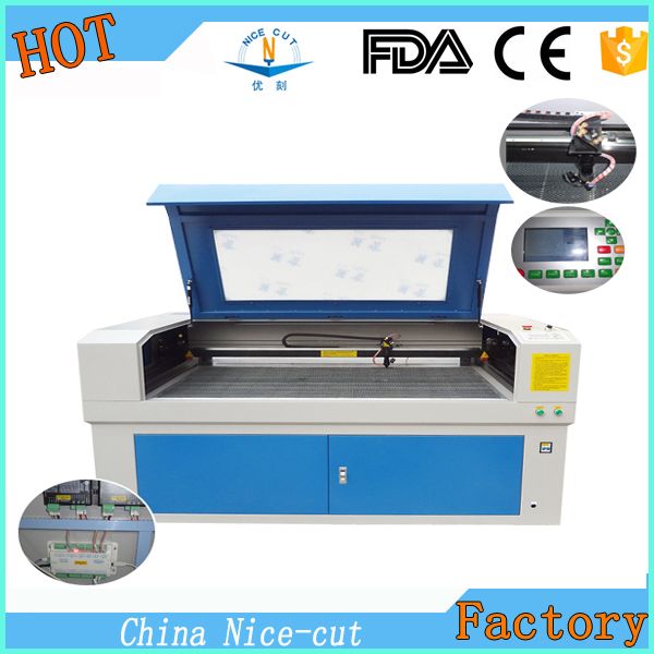 NC-C1390 80w CO2 MDF Wood Acrylic Granite Stone Paper Fabric Laser Cutting