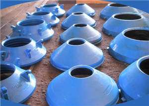 High Manganese cone crusher bowl liner mantle and concave cone crusher  spare parts