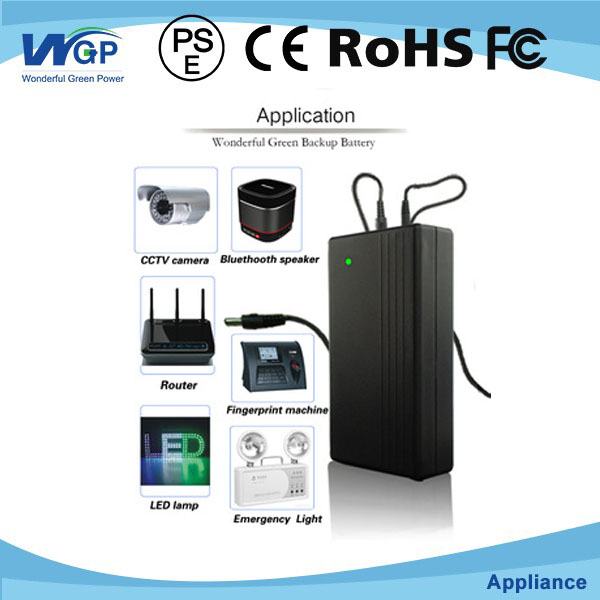 Ups for Door Alarm System 5V2A Mini UPS for Security System