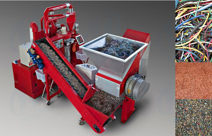 Copper wire recycling machine/copper cable granulator