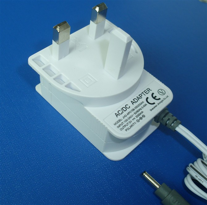 5V2A Power Supplies with UK plug