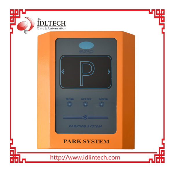 Long Range RFID Antenna for Hands-Free Parking and Access