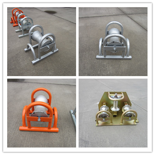 Paint Steel buried cable roller Cable Tray Rollers purchasing ...