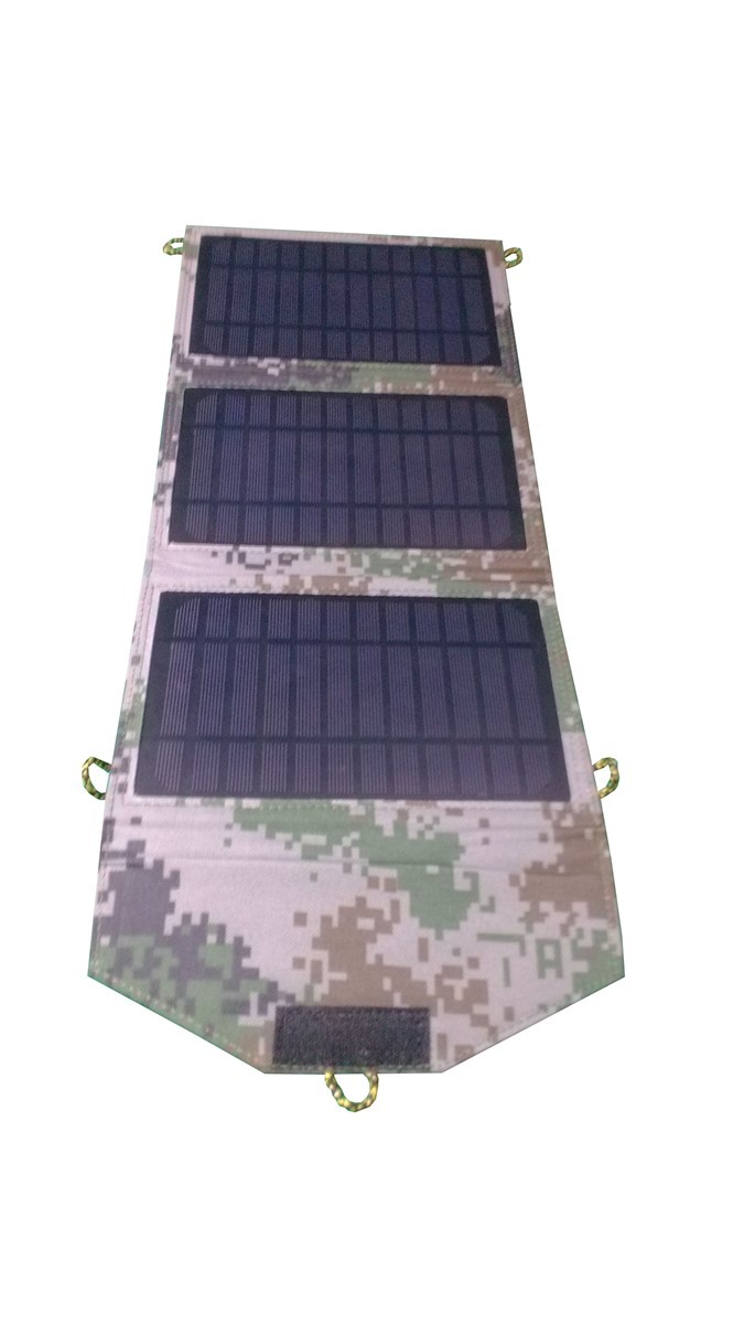 Shenzhen Factory Price Portable Folding Solar Panel Solar Charger 7W 10W 15W