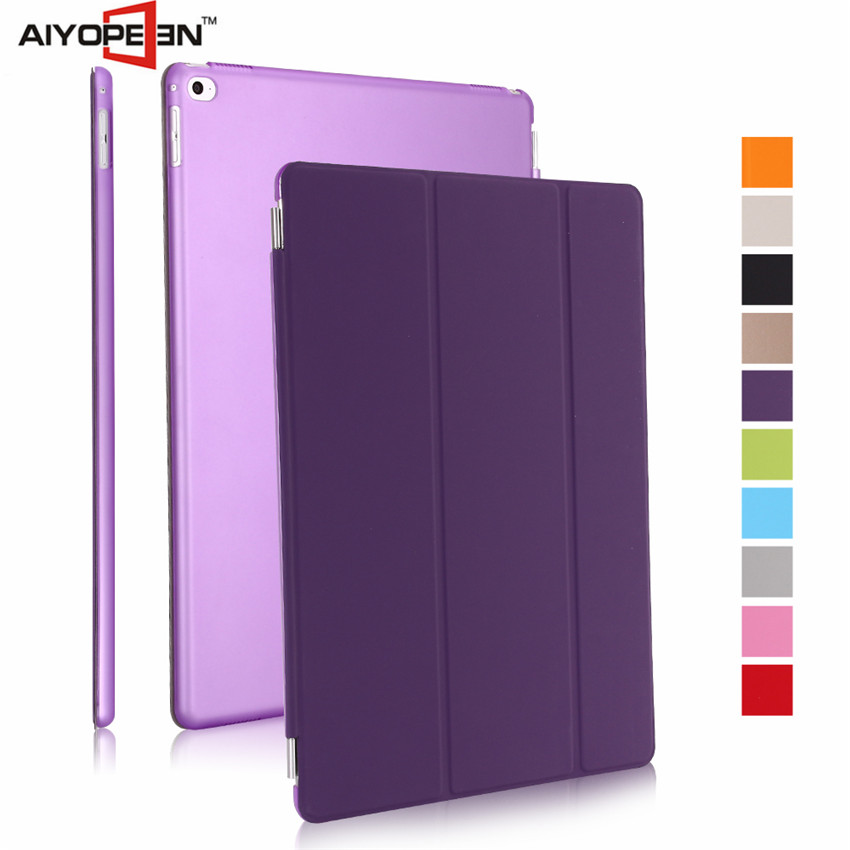 Hot Sales fashion case stand ultra thin magnetic smart cover auto wake sleep for ipad pro case