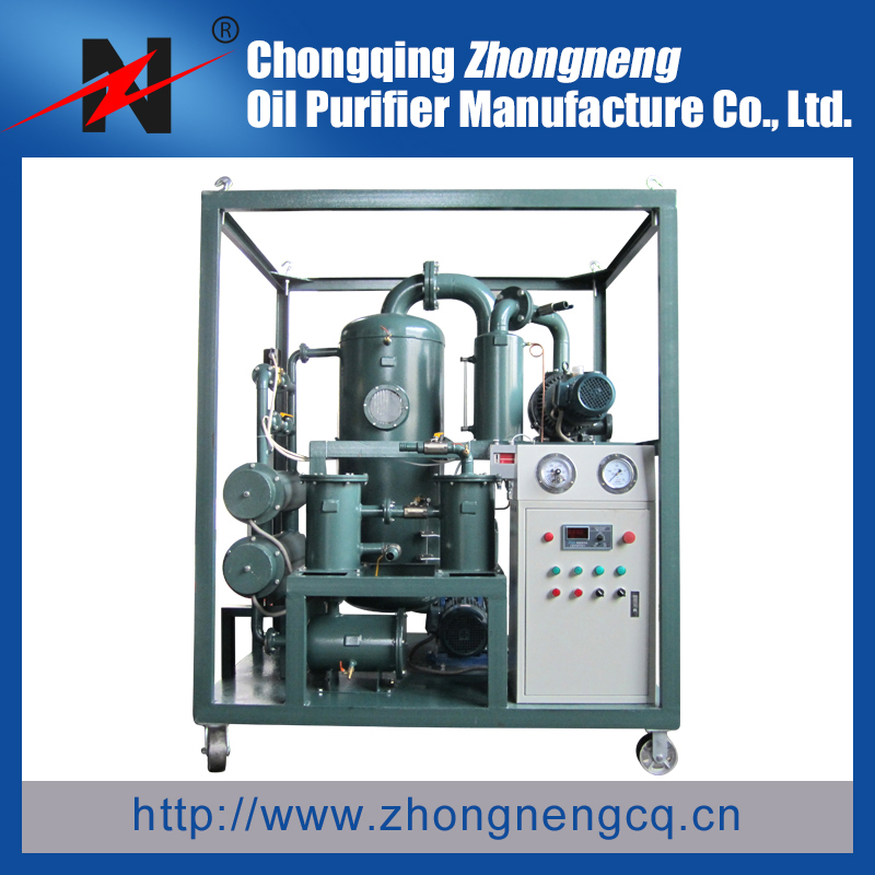Series ZYD Double-Stage Transformer Oil Filter Machine