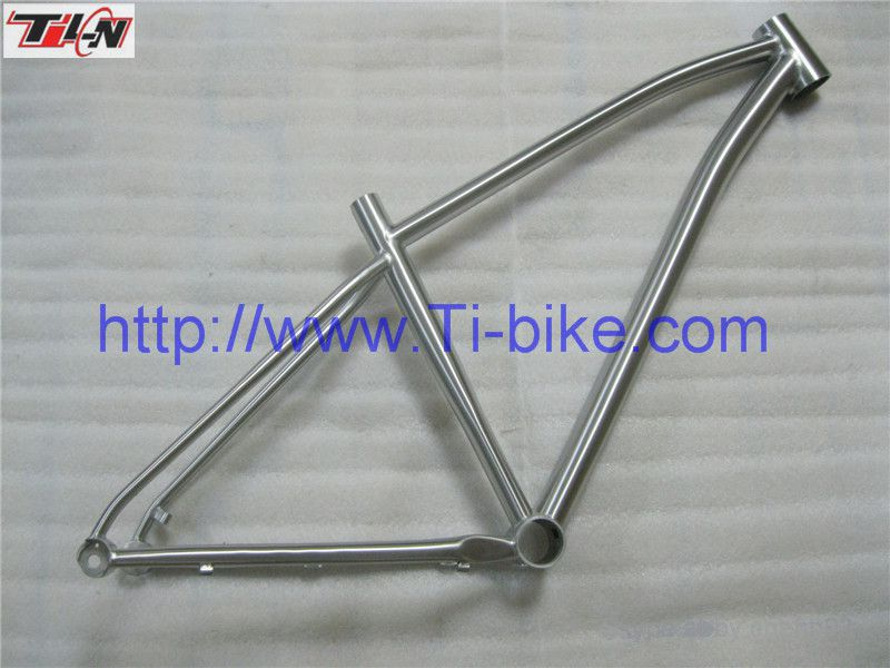 New style 700C Titanium touring bicycle frame,Cyclocross bicycle frame