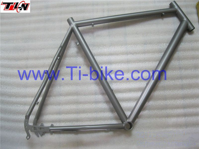 new style!Disk brake or V brake titanium triathlon bike frame triathlon time trial bike frame