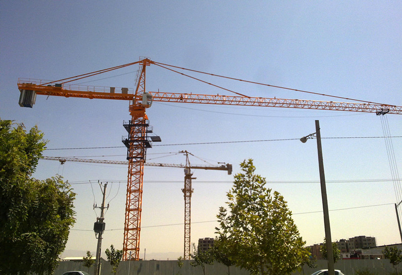 self-raising 6t Tower Crane
