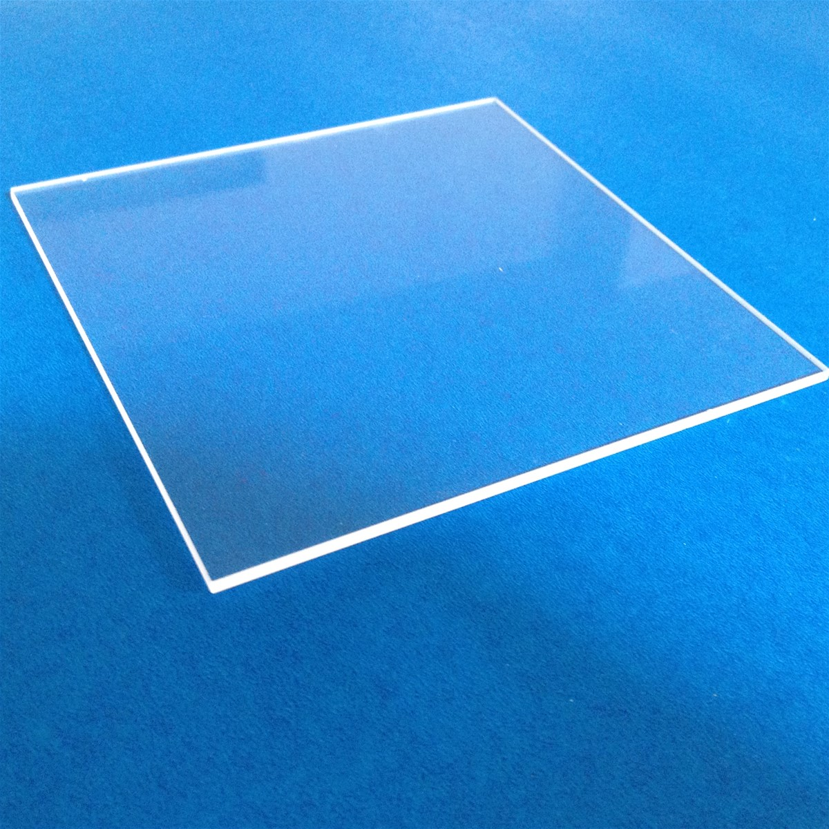 High Definition Transparency Quartz Glass Window