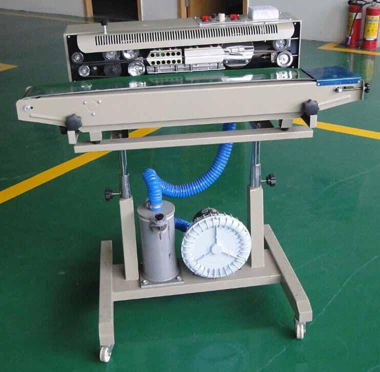 Gas Insert Continous Sealing Machine Packaging Machinery  Continous Sealer