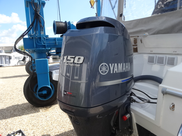 Used yamaha 150 hp 150hp 4 stroke outboard motor engine for Outboard motors for sale in delaware