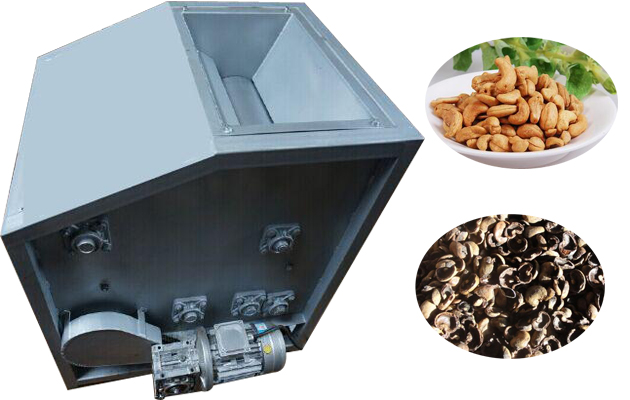 High Efficiency Advanced Cashew Shelling Processing Machine With CE Certificate