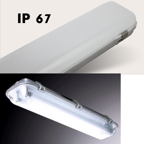 40W 4000LM ,IP67 ,LED Integrated Tri-Proof Light ,5years warranty