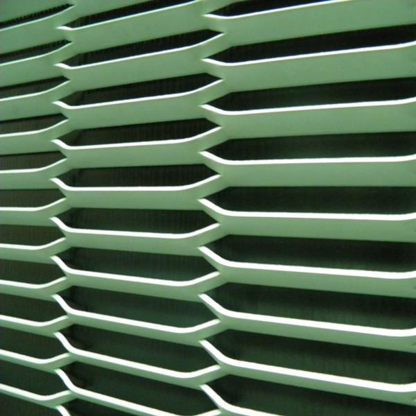 decorative aluminum expanded metal mesh panels / honeycomb ...