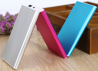 Li-polymer USB 4000mah Portable Power Bank Battery