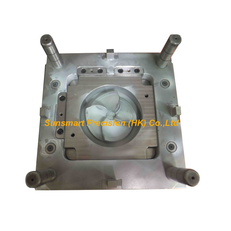 Cooling fan blade & custom injection molding