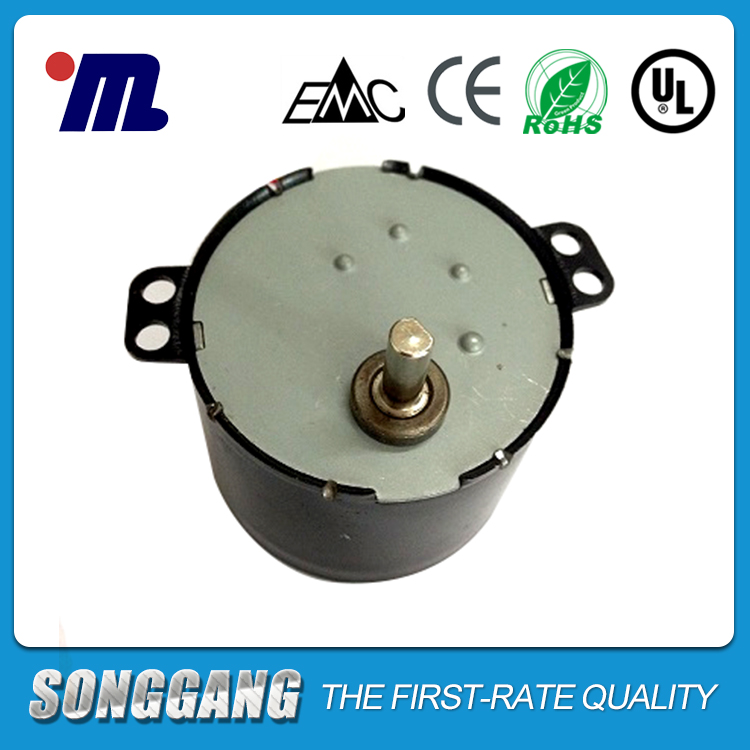 AC Reversible Motor 110 Volt 0.8-1rpm SD-208-516 with Steel plate Motor For CCTV Product