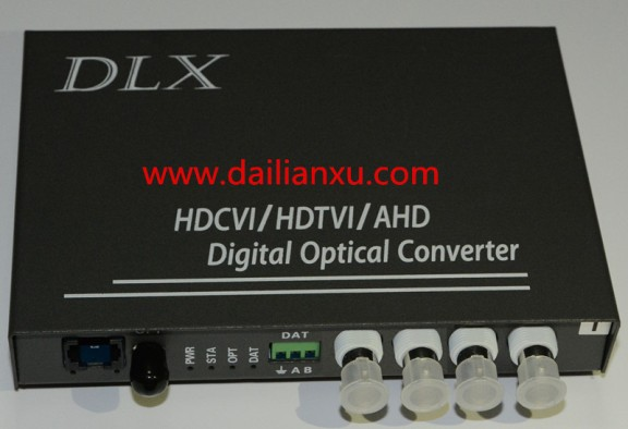 1080p 2Mp 1-16channels HD-AHD Video/Audio/Data Fiber Optical Transmitter and Receiver(DLX-HDVOP-A)