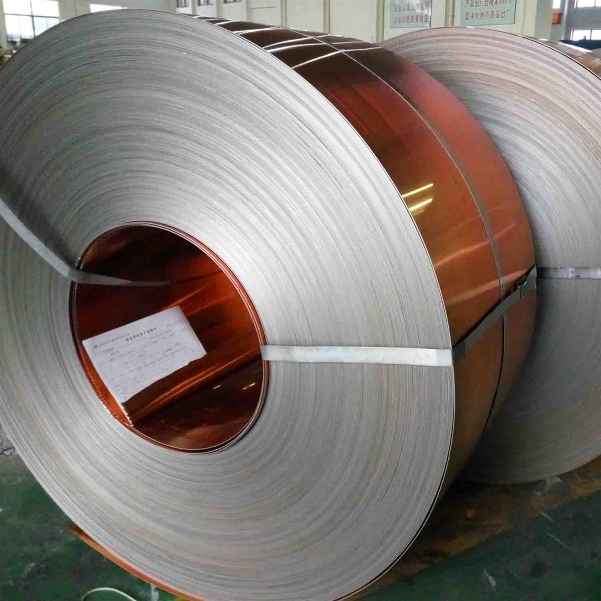 H90 Copper Clad Steel Strip for Bullet Casing purchasing, souring ...