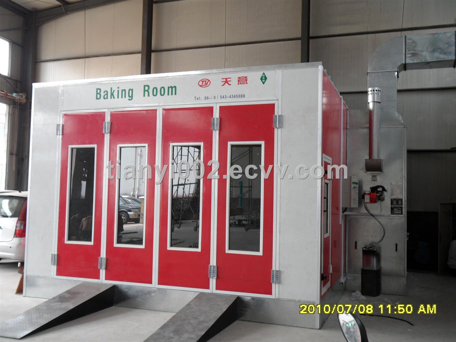 Tianyi Auto Spray Bake Paint Booth Car Spray Booth Oven Used Spray