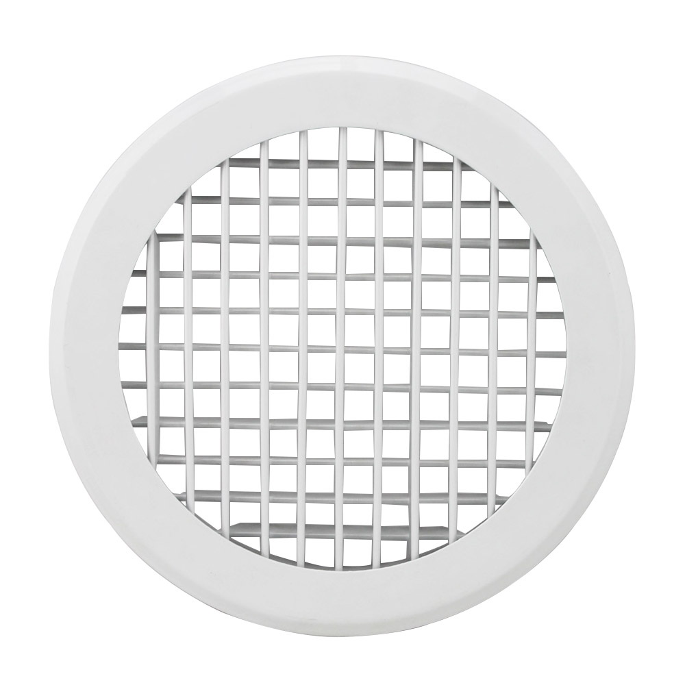 Hvac System Air Conditioning Round Grill Aluminum Grille