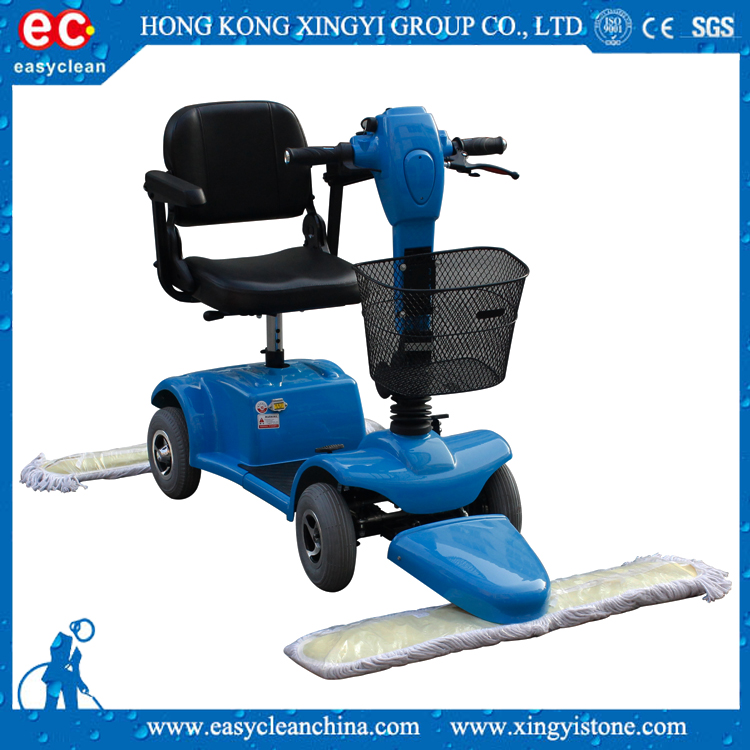 high quality electric driving mop dust cart