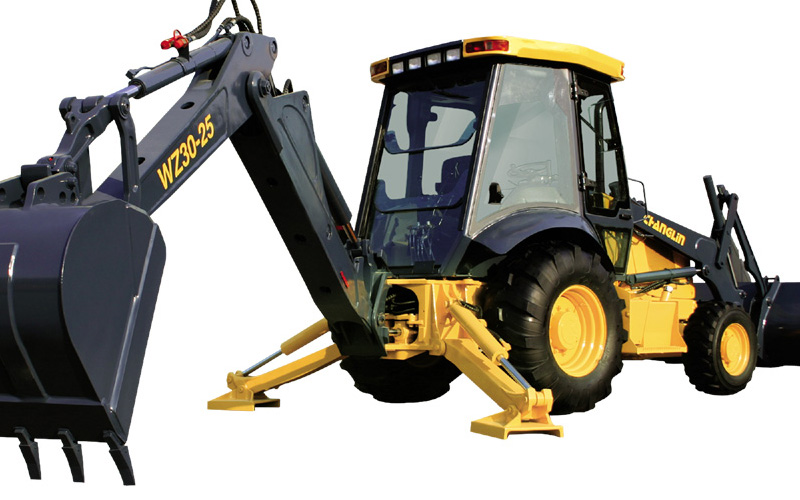 WZ30-25C CE Certificated Backhoe Loader with Deutz Engine
