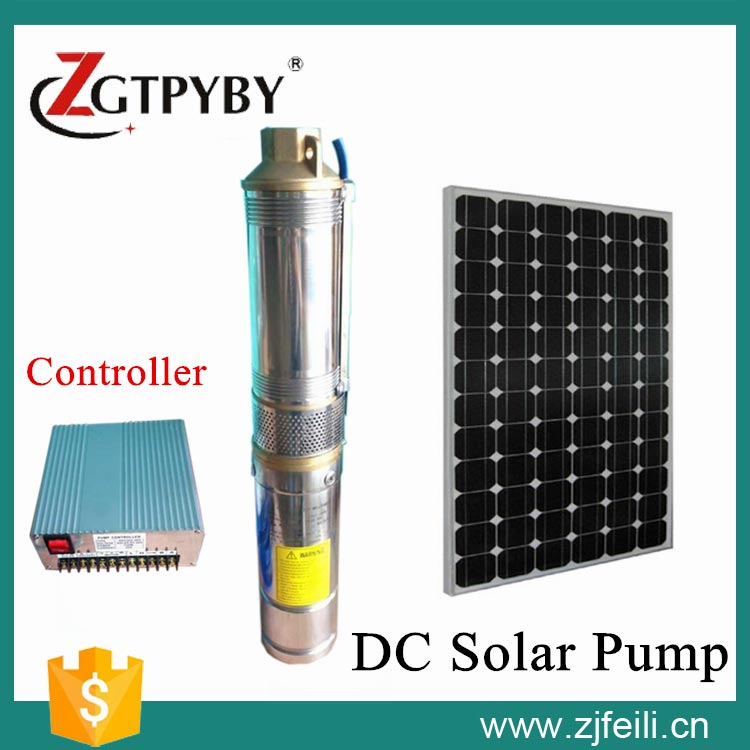 Solar water pump agriculture equipment for irrigation system